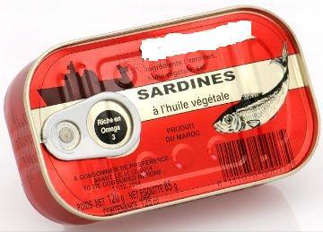 sardine en conserve origine maroc toute destination 16 50 euro fob 8 contenaire par moi. Black Bedroom Furniture Sets. Home Design Ideas