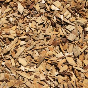 les copeaux de bois et des palettes de bois pour 100