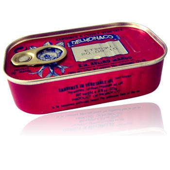 Conserve sardine huile v g tale conteneur de 1700 cartons senegal recherche de client - Conserve de sardines maison ...