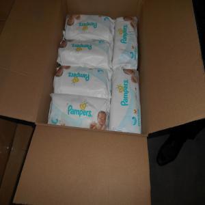 Lingette pampers en cartons euro piece carton pallette conteneur 40 belgique - Comparateur de prix couches pampers ...