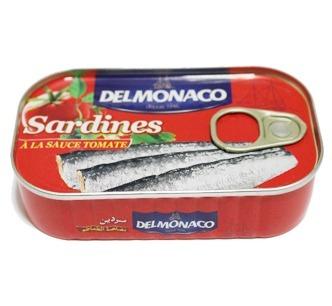 Sardines en boite de 125g carton de 50 boites de 125g 3200 cartons maroc fabricant - Conserve de sardines maison ...