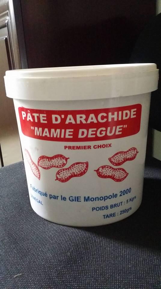 pate d arachide a vendre 851500 fcfa la tonne container d 233 part port de dakar fob