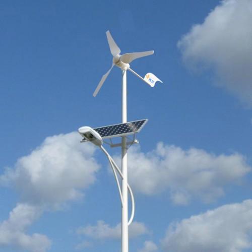 lampadaire eolien solaire