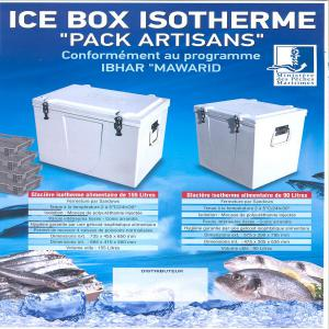Ice box isotherme conform ment au programme ibhar maroc for Fabricant conteneur maritime